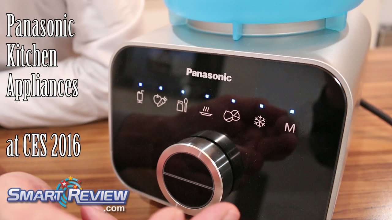CES 2016 Panasonic 2016 Small Kitchen Appliances MX ZX1800