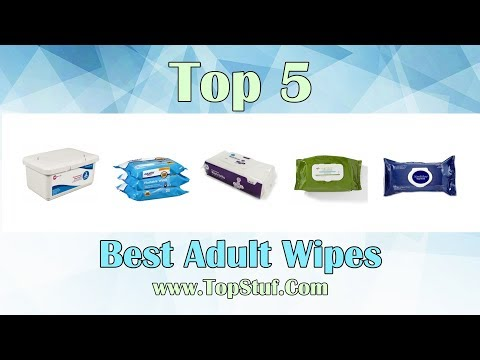 Best Adult Wipes - Our highly researched Top 5