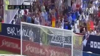 Melhores Momentos Barcelona 5 x 1 Leganés Campeonato Espanhol  17 09 2016 HD