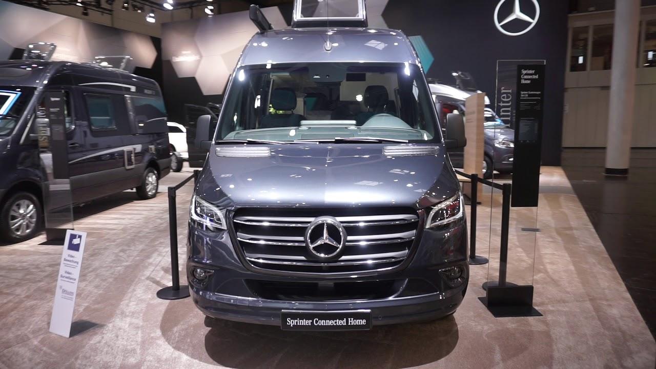 New Mercedes Sprinter as a base for RVs