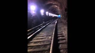 Stömlös i tåget