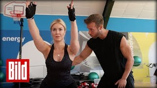 Fitness für Faule - Nina Ensmann und Promi-Trainer Dany Petric legen los -