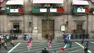 Desfile Cívico Militar Conmemorativo al CCXLVII Aniversario de José María Morelos y Pavón