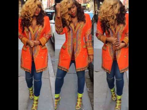 Dashiki Dress Outfit  Latest Dashiki Ankara Styles For