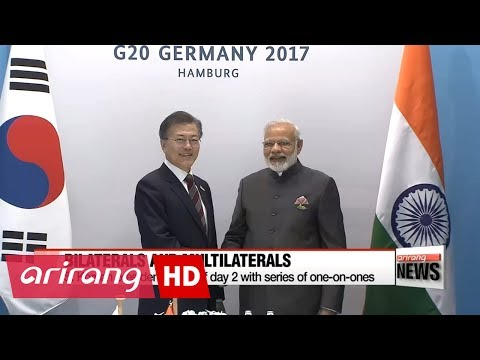 G20 Hamburg Summit: Day 2