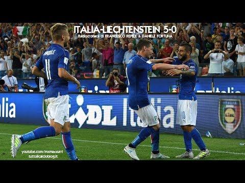 ITALIA-LIECHTENSTEIN 5-0 - Radiocronaca di Francesco Repice & Daniele Fortuna (11/6/2017) Radio Rai
