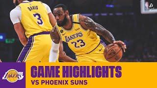 HIGHLIGHTS   Los Angeles Lakers Vs. Phoenix Suns