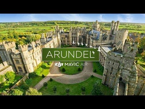 Arundel Castle, England Drone Flight (4K)