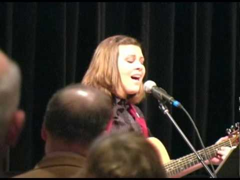 Alyssa Fischer sings America the Beautiful at the ...