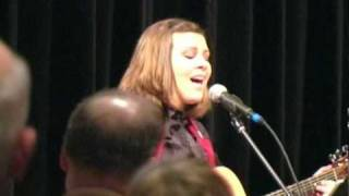 Alyssa Fischer sings America the Beautiful at the Alaska GOP State Convention