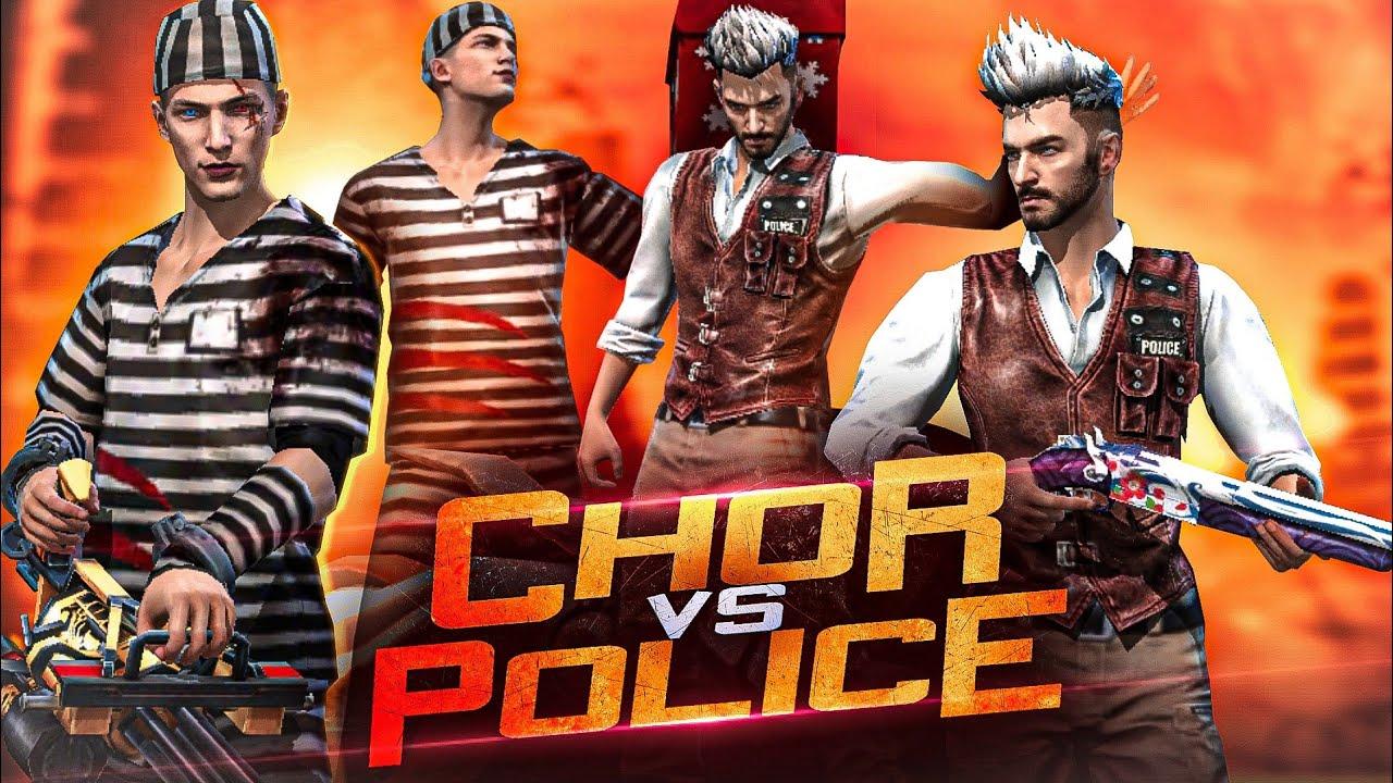 Chor vs Police | Free Fire Short Film | Kar98 army