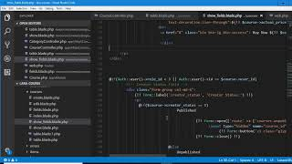 Laravel  Udemy Clone - 8 - has and belongs to many relationships | Learning Course management system
