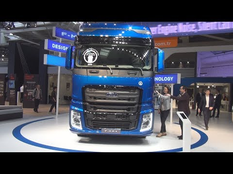 Ford F-Max Tractor Truck (2019) Exterior and Interior