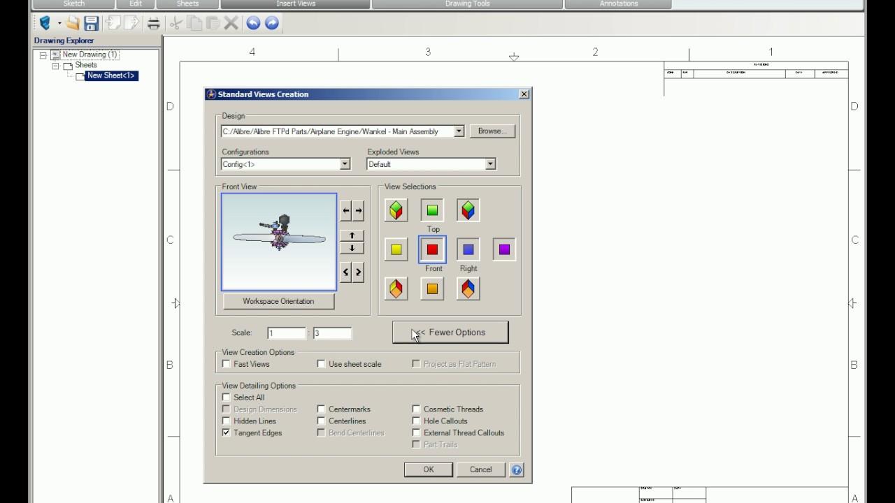 Reference Videos - 2D Drawings & BOMs - Alibre, LLC