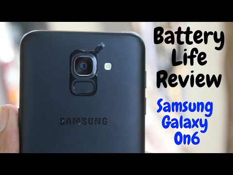 Samsung Galaxy On6 Battery Life Review (A Normal User Test)