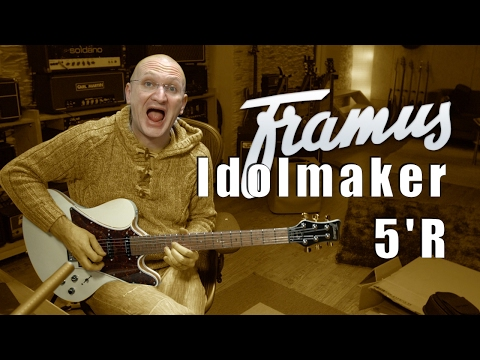 Framus Idolmaker 5'R - Unboxing and First Impressions