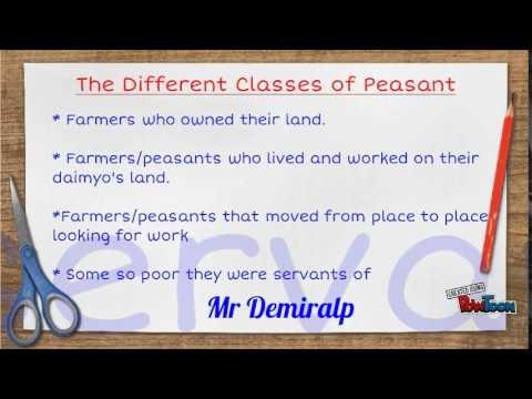 Peasants, artisans and merchants in medieval Japan