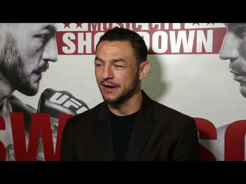 Cub Swanson talks about tonight's victory and what's next for him in featherweight division