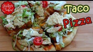 Air Fryer Pizza - Taco Pizza - Air Fryer Recipes