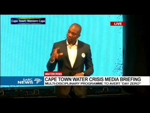 Cape Town water crisis media briefing, Mmusi Maimane: 24 Jan 2018