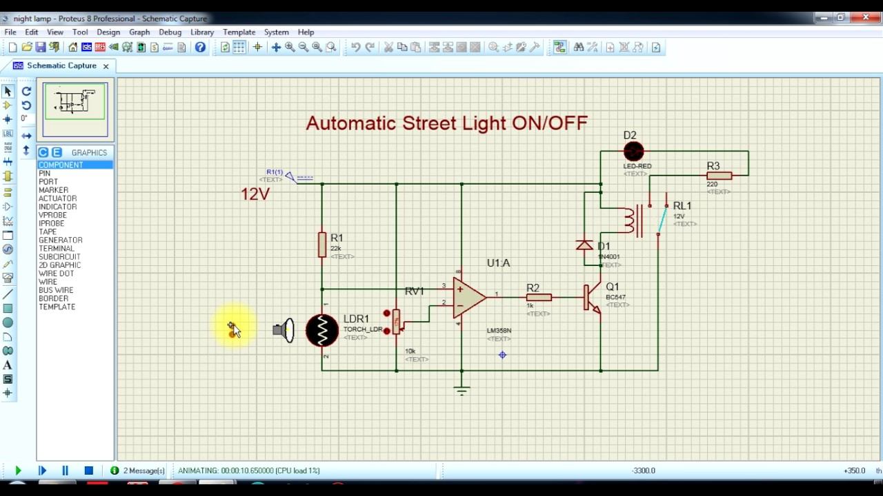 Sound Detector Circuit Using Op Amp