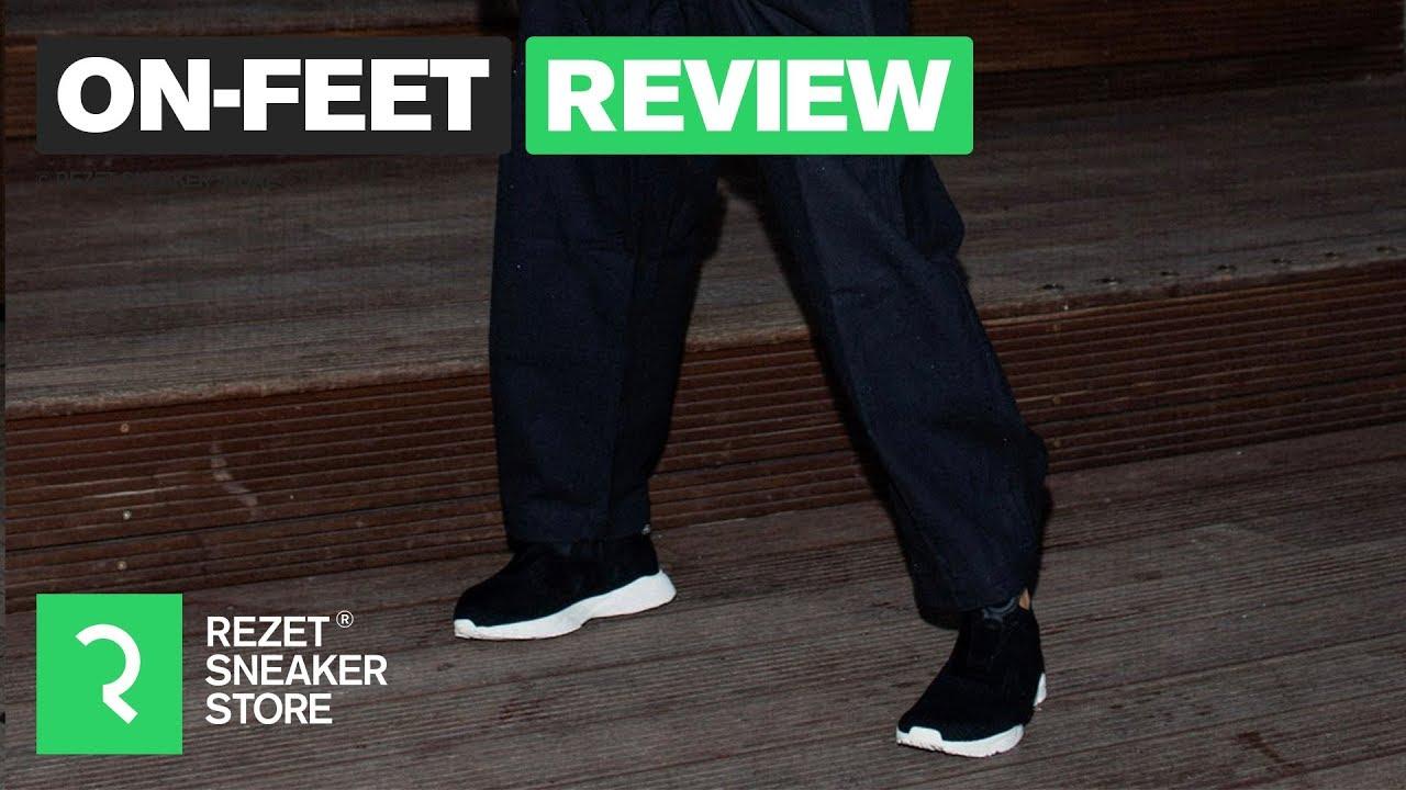 On feet review Reebok Pump Supreme
