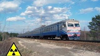 ЭР9Т 673 рейсом 906 Семиходы Славутич