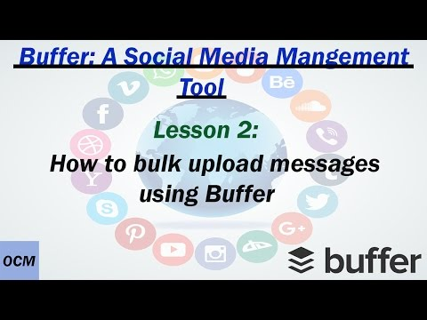 Lesson 2 How to schedule posts on social media apps using Buffer app | A buffer tutorial