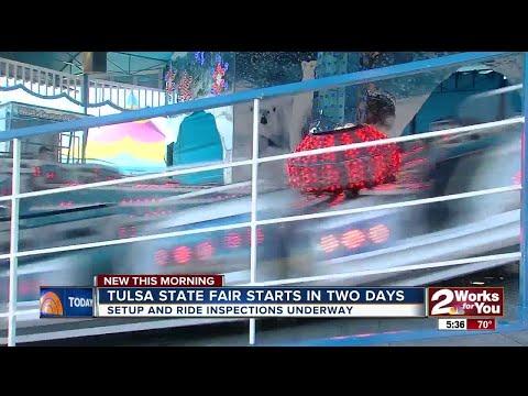 Preparations underway at Tulsa State Fair