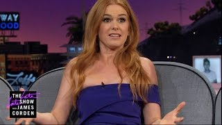 Isla Fisher & James Corden