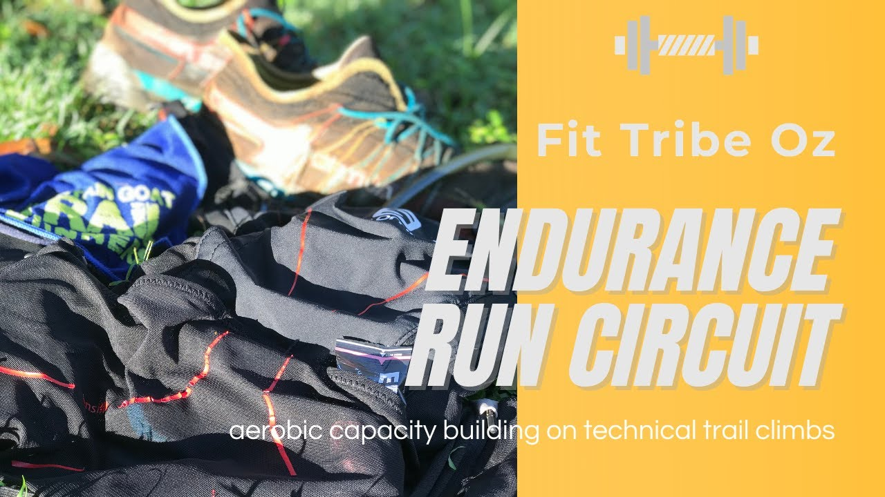 Trail running strength endurance circuit