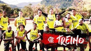 Flamengo faz último treino antes do Fla-Flu