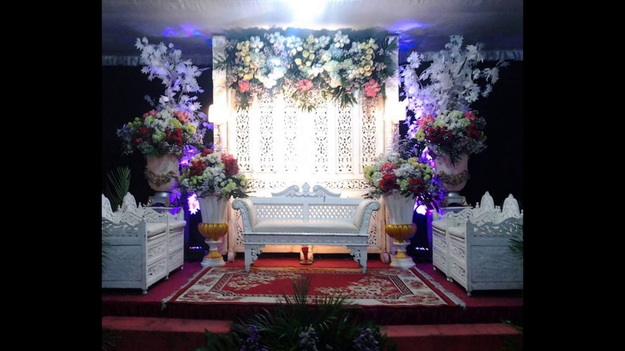 Wedding decoration at home ideas 2017 youtube for Home wedding ideas