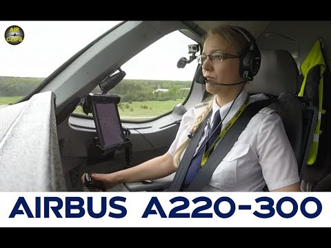 Liina's perfect Bombardier CS300 Landing in Riga, another Air Baltic - MUST SEE! [AirClips]