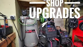 upgrading the shop air compressor