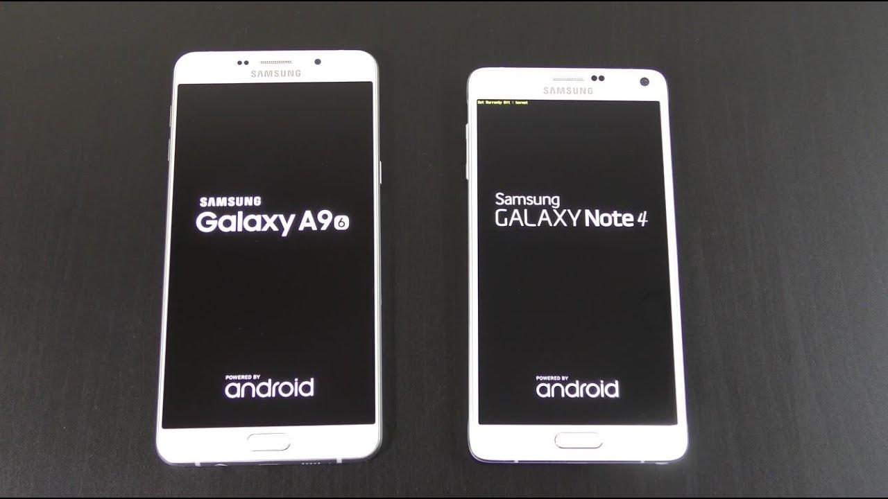 Samsung Galaxy A9 Vs Galaxy Note 4 Speed Amp Camera Test