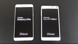 Samsung Galaxy A9 vs Galaxy Note 4 - Speed & Camera Test!