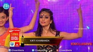 Kriti Kharbanda Dance Performance @ SIIMA 2014, Malaysia