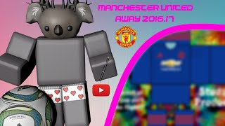 ROBLOX SPEED ART MANCHESTER UNITED AWAY KIT