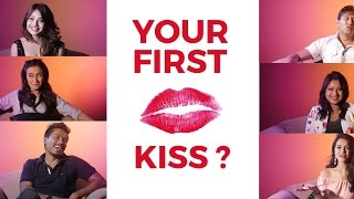 YOUR FIRST KISS I ONE QUESTION I CELEBRITIES RESPOND ON THEIR FIRST KISS