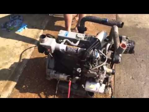 Kubota V2203 diesel reefer engine