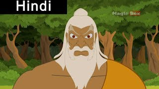 Sita Abducted By Ravana - Ramayanam In Hindi - Animation/Cartoon Stories For Children