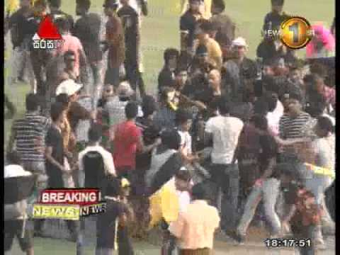 News1st: Brawl breaks out during Colombo school match at SSC