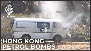 Hong Kong police 'dispose of 10,000 petrol bombs in a week'