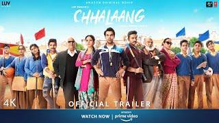 Chhalaang Official Trailer | Rajkummar R, Nushrratt B | Streaming Now on Amazon Prime Video