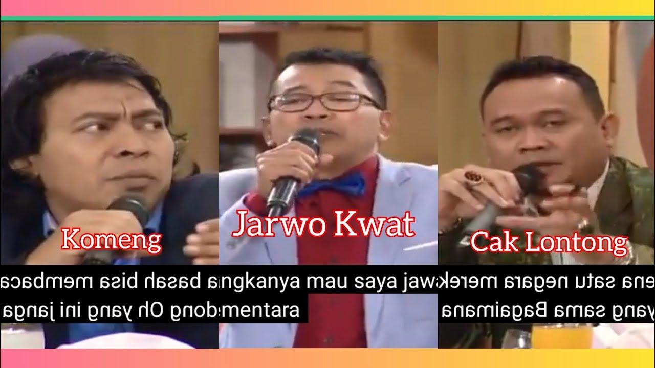 "Download ILK "" JARWO KWAT VS KOMENG DAN CAK LONTONG NGAKAK 😂😂😂"" Dolar Makin Melar..."