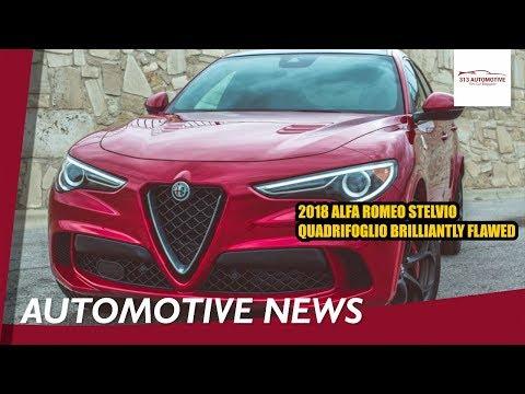 2018 Alfa Romeo Stelvio Quadrifoglio Brilliantly flawed