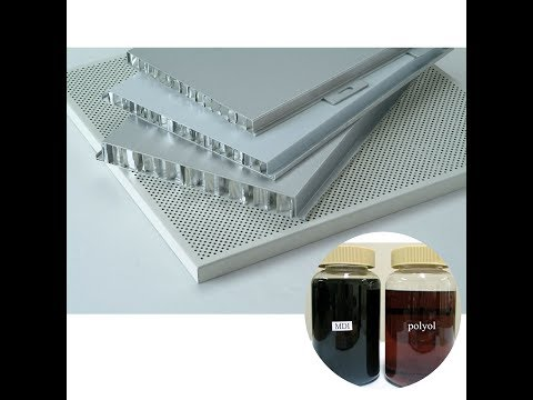 DIY Two Components Metal to Metal Liquid Polyurethane Glue Adhesive for Aluminum Honeycomb Sandwich