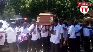 TAZAMA jinsi mwili wa Akwilina ulivyopokelewa Chuo cha NIT