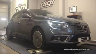 Renault Megane 4 1.6 dci 130cv Reprogrammation Moteur @ 150cv Digiservices Paris 77 Dyno